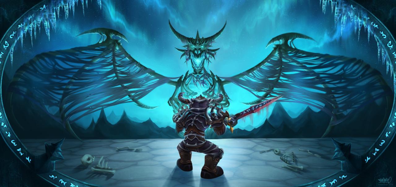 Sindragosa Vs Goblin Death Knight Warcryru