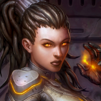 BlizzCon key art 2011 Starcraft's Kerrigan