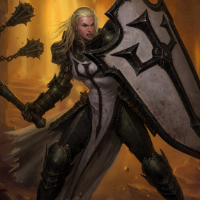 Diablo 3 Female Crusader