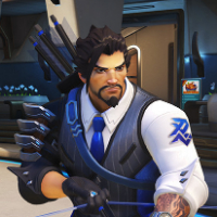 Overwatch Retribution - Scion Hanzo Character and Weapon Skin