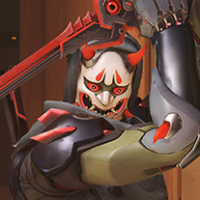 Overwatch Oni Genji Weapons