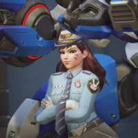 Overwatch Officer D.Va Weapons