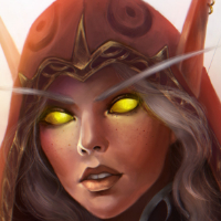 Portrait of Blood Elf Huntress