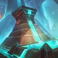 Glowing Pool Illustration for Hearthstone