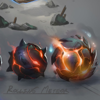 Ragnaros Effects and Ability Concept Art