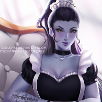 French Maid Widowmaker