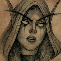 Sylvanas WindRunner sketch