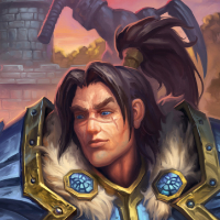 Varian with Anduin