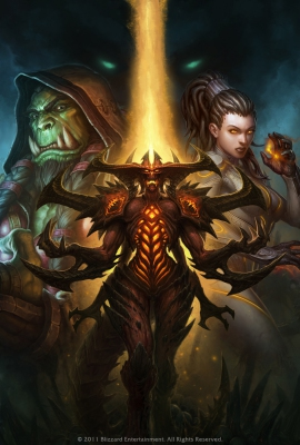 BlizzCon key art 2011 Full poster