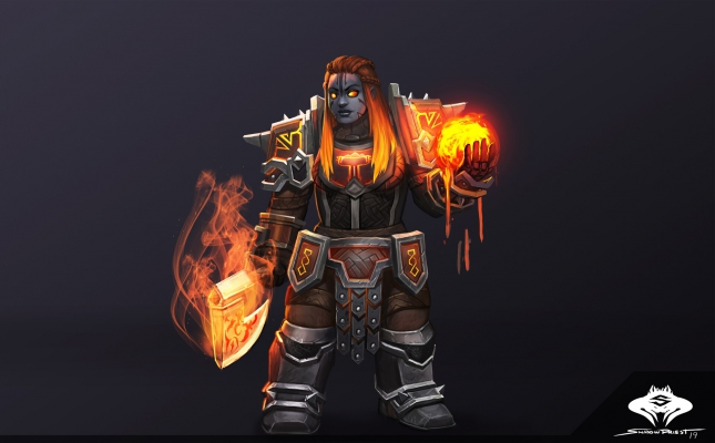 ...Commission: Dark Iron Dwarf Shaman...