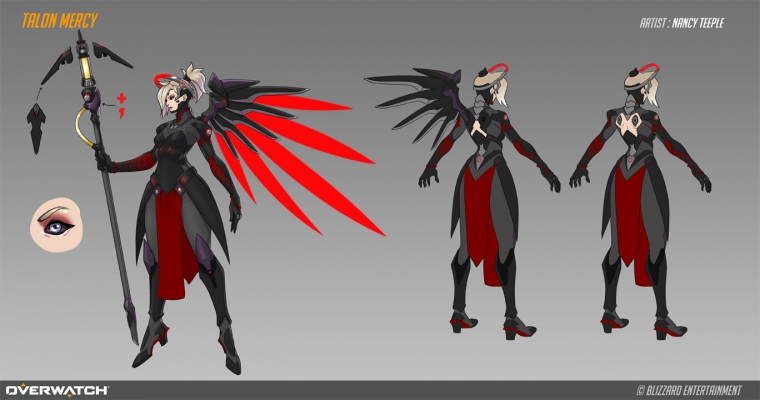Talon Mercy Design Sheet
