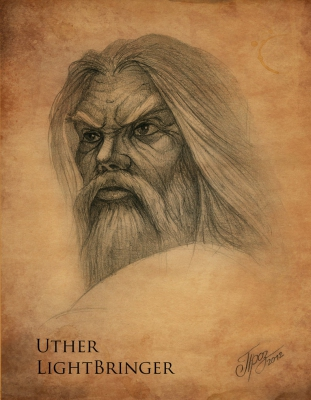 Uther LightBringer - Sketch