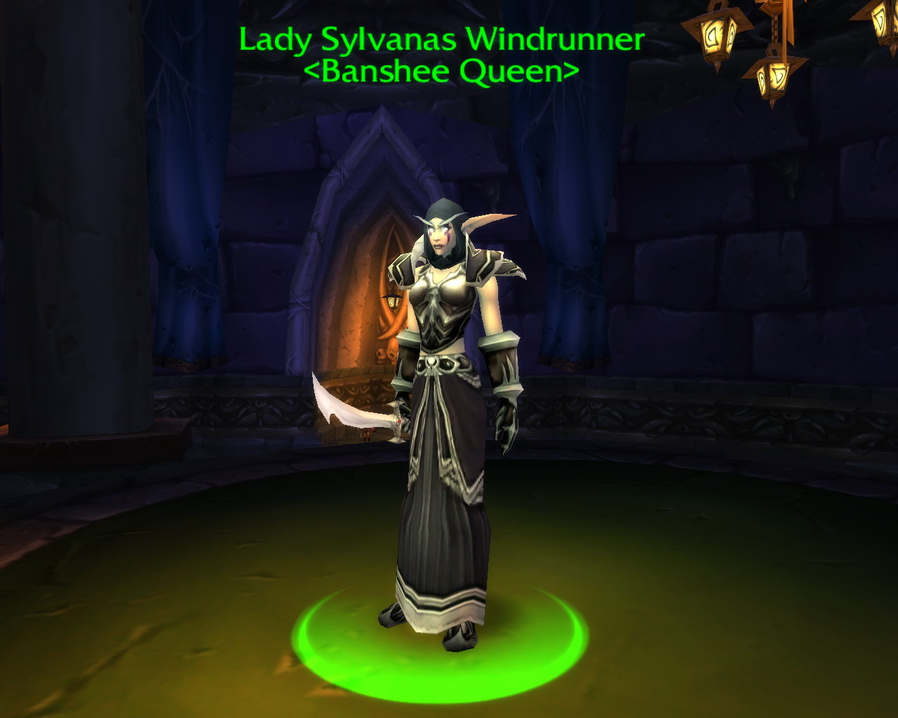 Lady sylvanas windrunner respawn time adult images